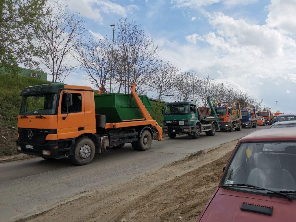 Odvozenje suta Beograd